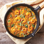 Thai Red Curry Shrimps