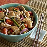 CHICKEN AND VEGETABLES HOI-SIN SAUCE